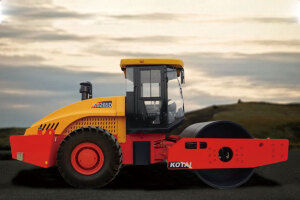 科泰KS265H单钢轮压路机(单驱)图片集