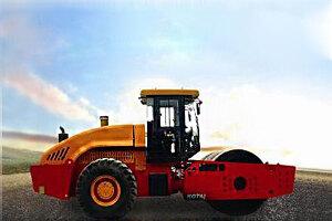 科泰KS366HD单钢轮压路机(双驱)图片集