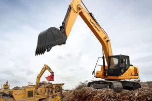 柳工CLG922E履带挖掘机图片集