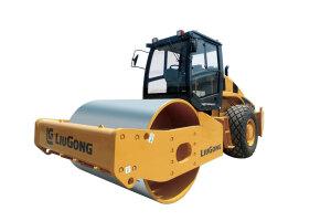 柳工CLG6614S全液压单驱单钢轮压路机图片集