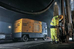 安百拓XRVS960E Atlas Copco大型移动式空气压缩机
