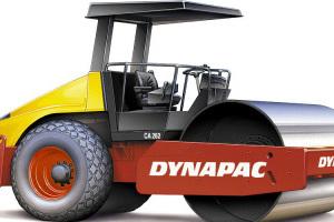 戴纳派克CA262D单钢轮振动压路机图片集
