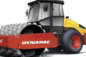 戴纳派克CA702PD单钢轮振动压路机图片集