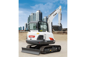 山猫E58小型挖掘机图片集