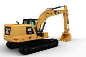 卡特彼勒新一代320液压挖掘机图片集