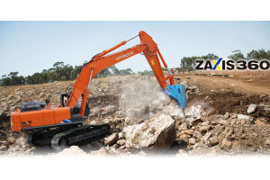 日立ZX360K-5A履带挖掘机图片集