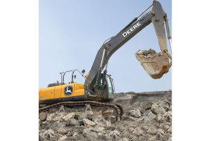 约翰迪尔E400LC履带挖掘机图片集
