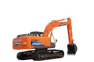 日立ZH200-5A混合动力液压挖掘机图片集