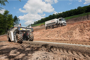 维特根WR 200 型冷再生及土壤稳定机图片集