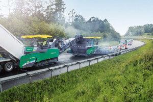 福格勒MT 3000-2 双级皮带型转运车
