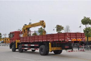 森源重工12吨随车起重机图片集