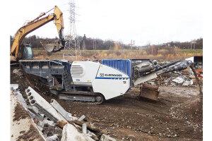克磊镘MC 100 R EVO 移动颚式破碎设备图片集