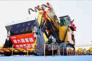 徐工XE7000正铲挖掘机图片集