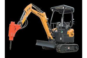 HT20-7微型挖掘机带破碎