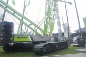 中联重科ZCC2600履带起重机*图片集