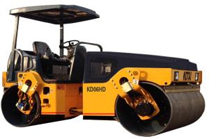 科泰KD06HD全液壓小鋼輪壓路機