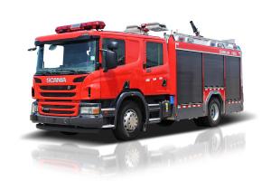 中聯重科ZLF5191GXFPM55/ZLF5191GXFSG55型泡沫/水罐消防車
