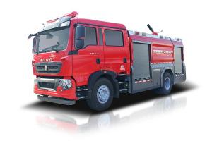 中聯重科ZLF5190GXFPM80/ ZLF5190GXFSG80型泡沫/水罐消防車