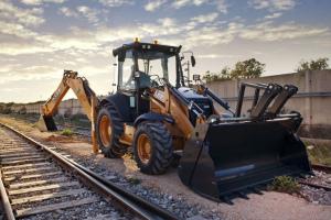 凱斯695ST T系列挖掘裝載機*圖片集