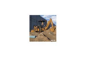 凯斯挖掘装载机图片集3