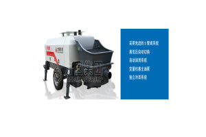 方圆HBTS60-13-90电动机混凝土拖泵图片集