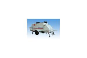 华建HJ-TSB6014混凝土拖泵图片集