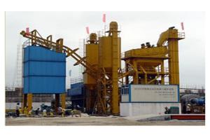 郴筑QB160强制式沥青混凝土搅拌设备图片集