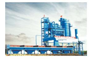 西筑JD3000沥青混合料搅拌设备图片集