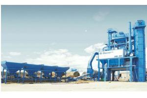 西筑JD1000沥青混合料搅拌设备图片集