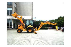 成工挖掘装载机图片集3