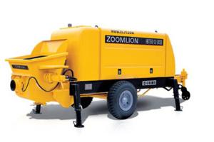 中联重科HBT110.26.390RS混凝土拖泵图片集
