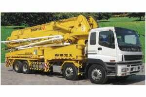 山推HJC5390THB混凝土泵车