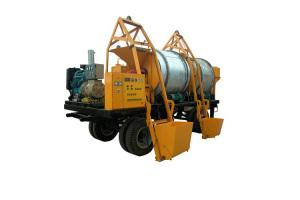 路星LY500型移动式沥料热再生机图片集