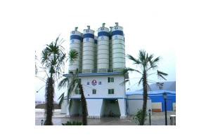 中国现代2-HZS240B环保节能型搅拌站