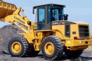 柳工CLG842-4t轮式装载机图片集