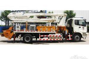 福田雷萨BJ5183THB-1混凝土泵车图片集