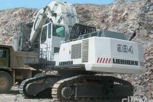 利勃海尔R 984 C履带挖掘机图片集