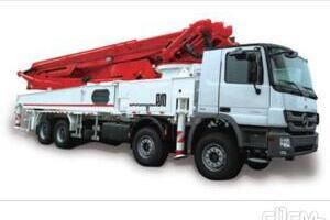 普茨迈斯特BSF56.15 HLS车载式混凝土泵车图片集