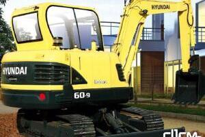 现代R60-9履带挖掘机 图片集