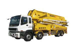 山推HJC5390THB-48混凝土泵车图片集