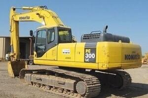 小松PC300-7履带挖掘机图片集