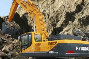 现代485LC-9T挖掘机图片集
