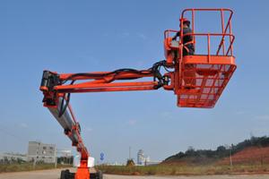 星邦GTBZ42直臂式高空作业平台图片集
