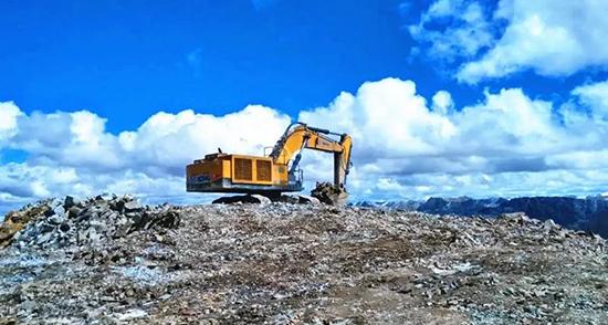 康明斯矿山发动机 助力矿山设备在世界屋脊大显身手
