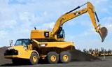 卡特374DL挖掘机装车视频