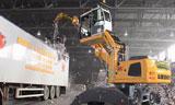 利勃海尔LH22轮式挖掘机视频