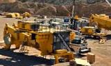 美国宾汉铜矿小松KOMATSU 930E重型矿卡组装过程