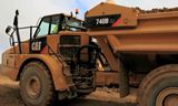 Cat® 740B 铰接式卡车