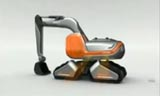 挖掘机表演视频/3D概念 工程机械视频
