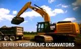 卡特336E挖掘机高效生产